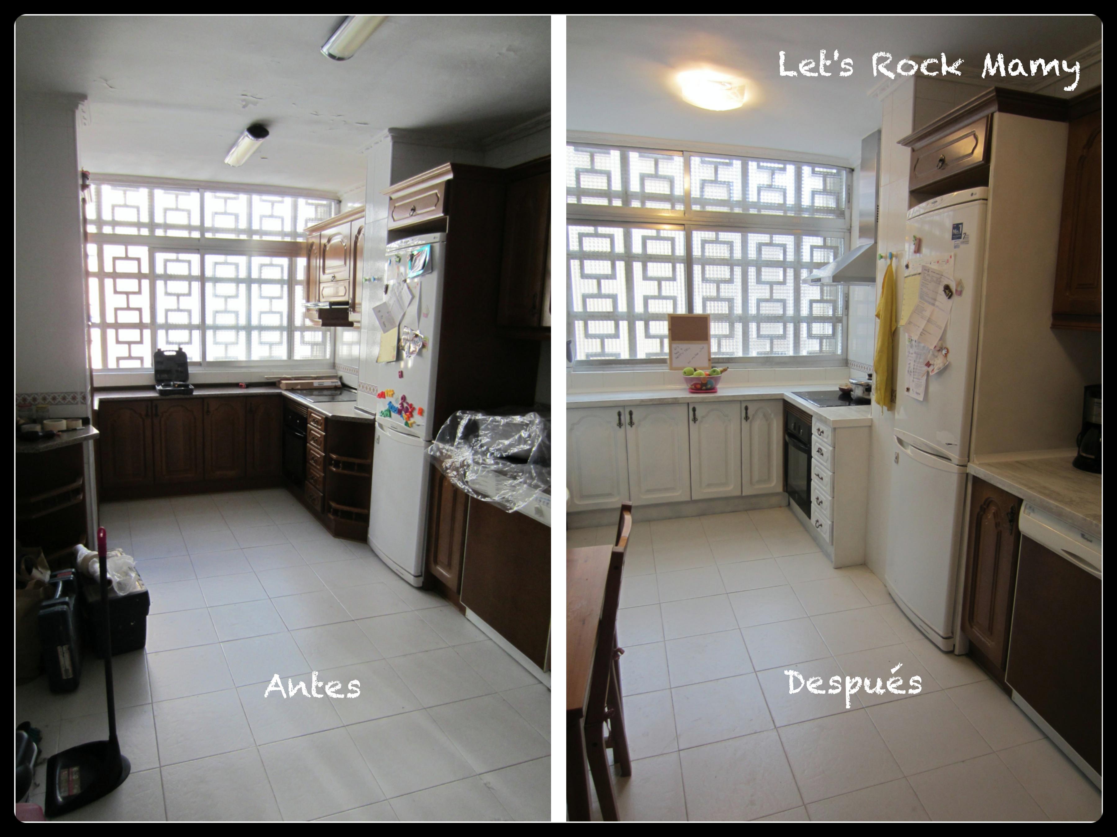 Renovar muebles mi cocina - Reformas antes y despues ...