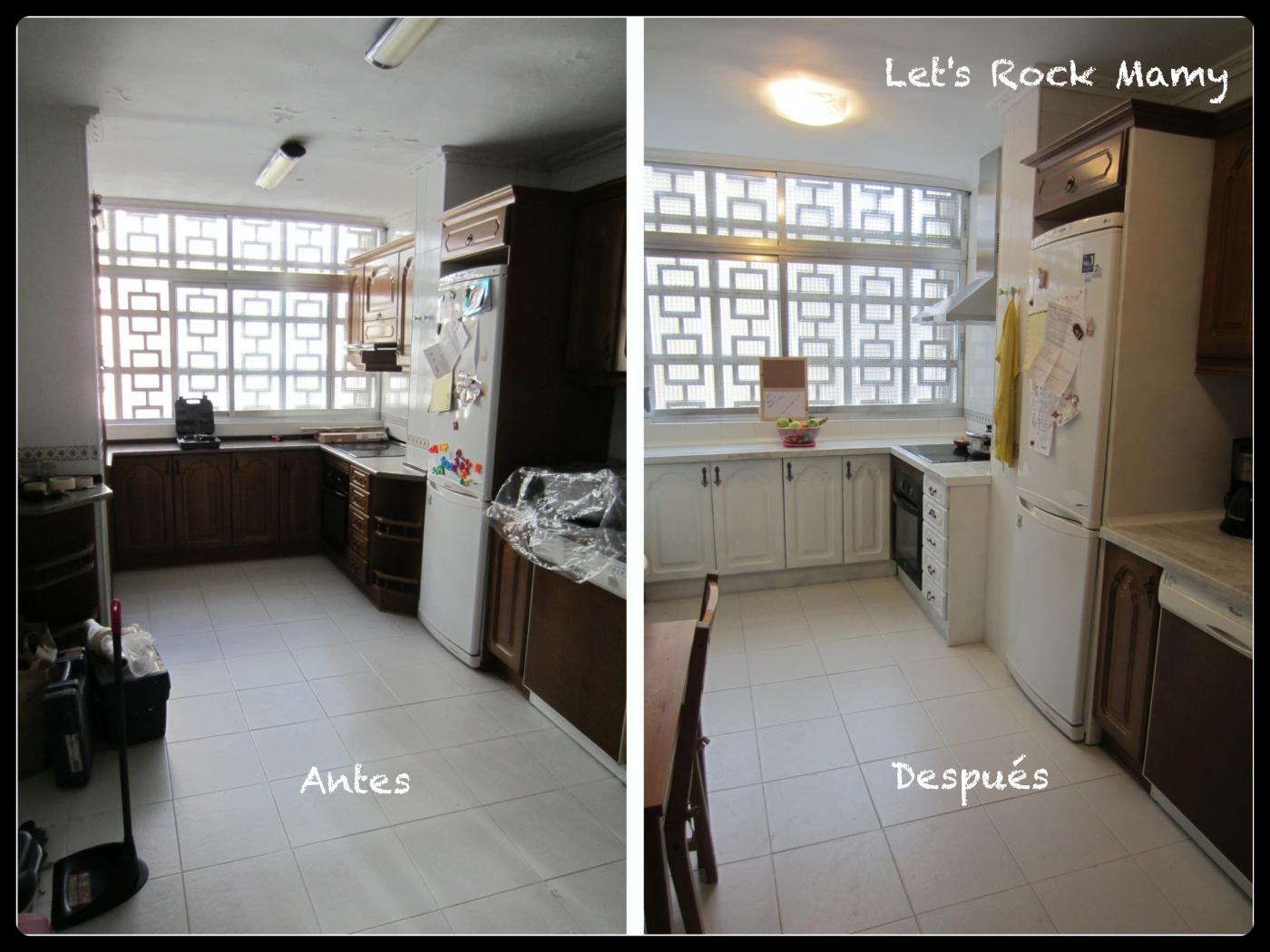 Renovar muebles. Mi cocina