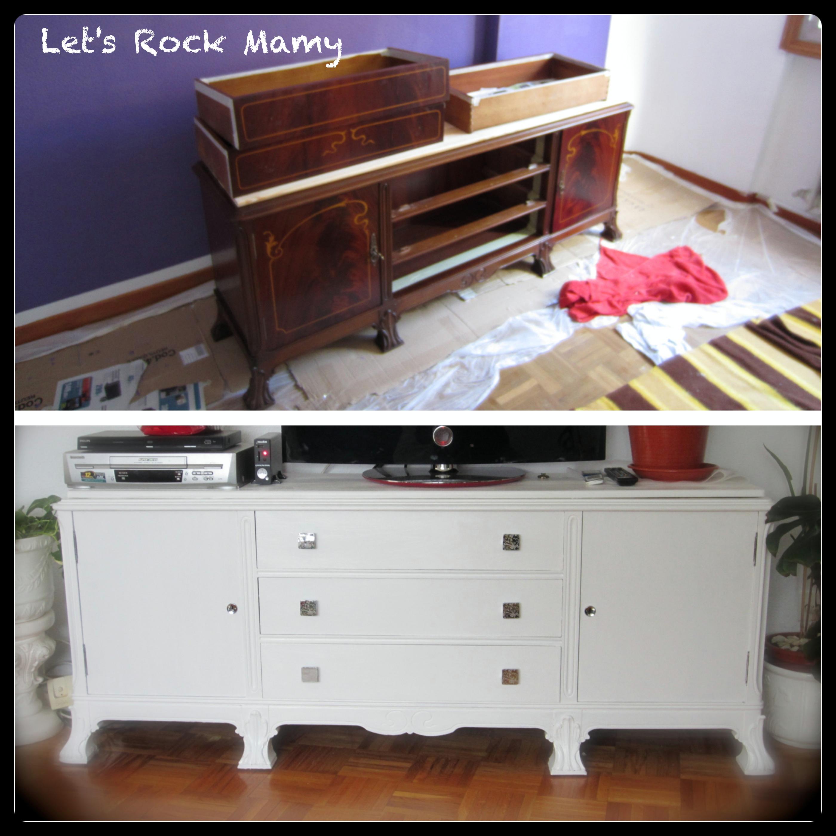 Renovar muebles mi cocina - Lacar una mesa ...