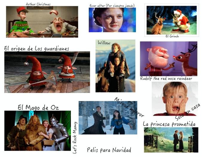 No son todas expresamente navideñas, pero a mí sí que me meten de lleno en ella :)