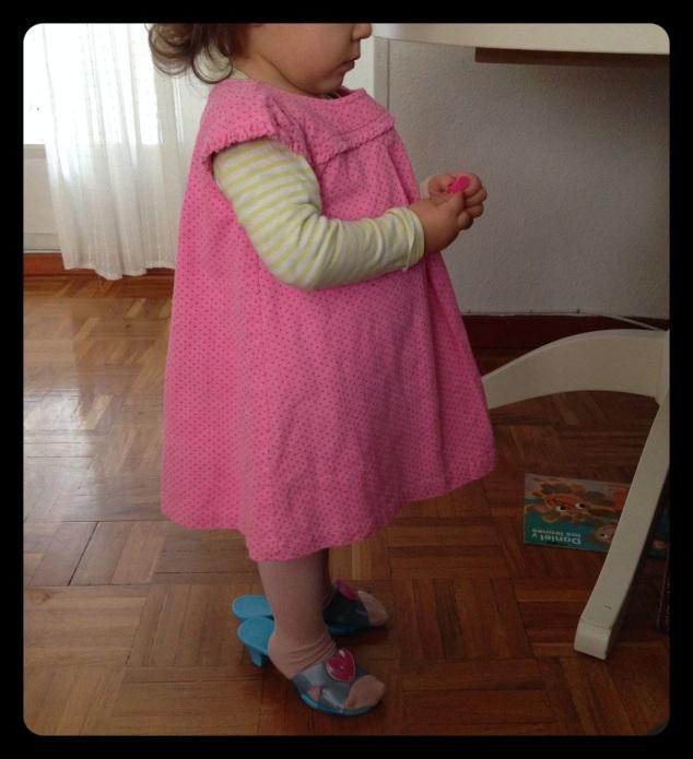 "Vera con ""loszapatosmasfeosdelmundo"""